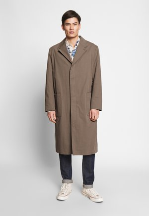 HIGH COAT - Classic coat - brown