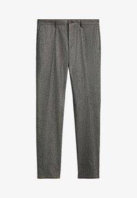 Massimo Dutti - SLIM-FIT - Trousers - grey - 0
