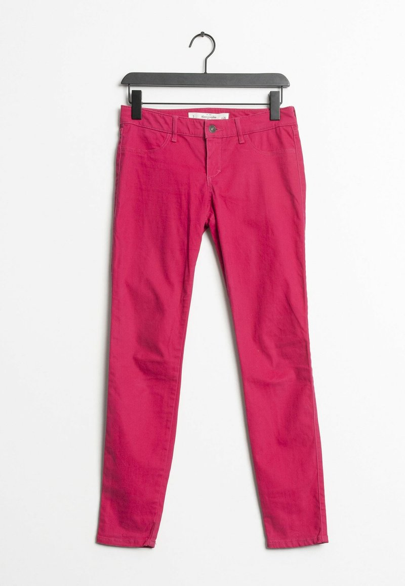 Abercrombie & Fitch - Trousers - pink