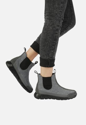 Classic ankle boots - gray