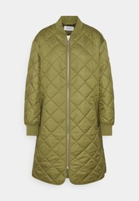 Marc O'Polo DENIM - QUILTED COAT - Cappotto corto - fresh herbs - 0