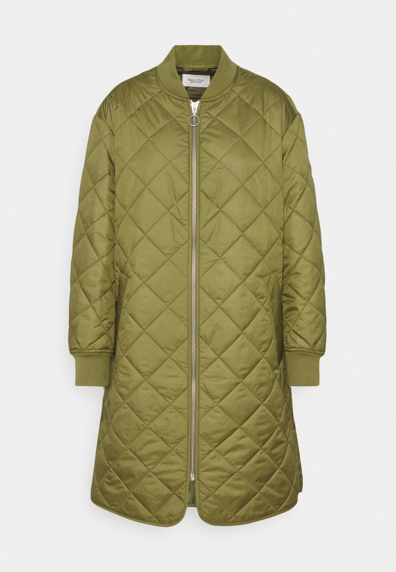 Marc O'Polo DENIM - QUILTED COAT - Cappotto corto - fresh herbs