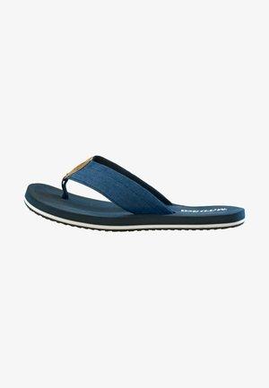 T-bar sandals - dunkelblau/multi