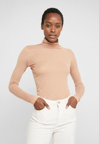 BLANCHE - WRAPPA BLOUSE - Svetr - toffee - 0