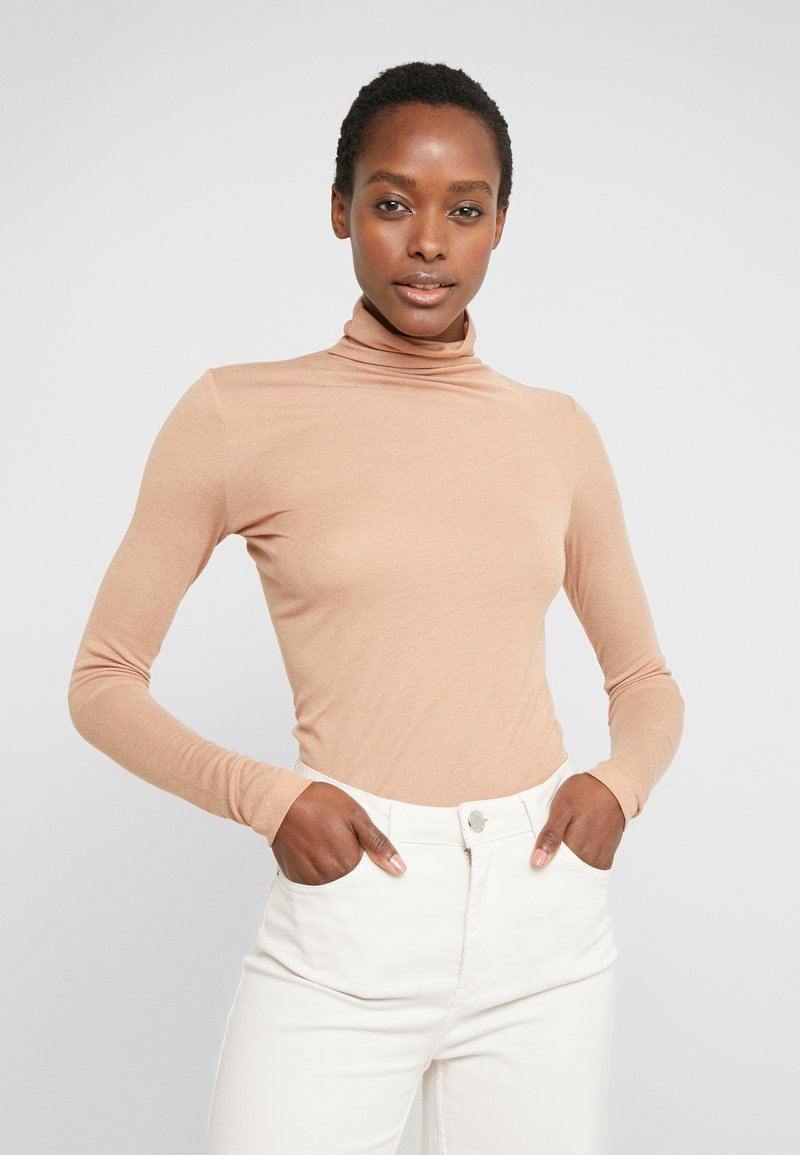 BLANCHE - WRAPPA BLOUSE - Svetr - toffee
