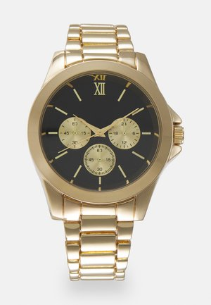 FACE WATCH - Horloge - gold-coloured/black