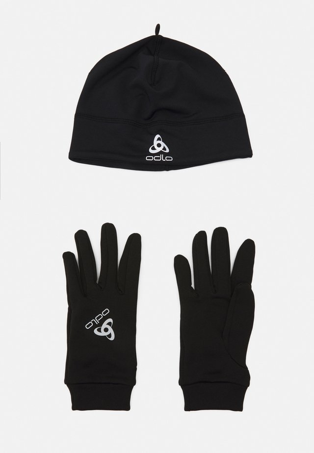 GLOVE HAT UNISEX SET - Muts - black