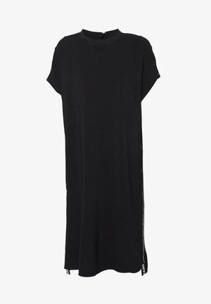 CADY DRESS SNAP DETAILS - Day dress - black