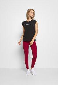 Even&Odd active - Camiseta de deporte - black - 1