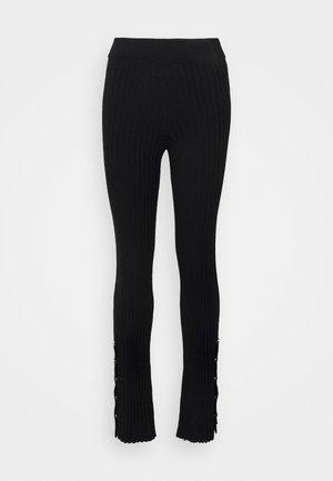MOUSSAILLON - Trousers - noir