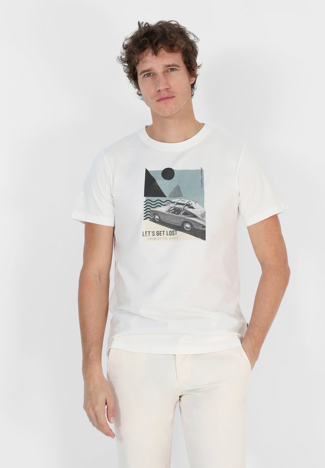 COLLAGE PIC - Print T-shirt - off white