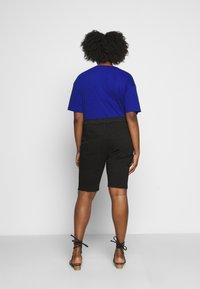 Dr.Denim Plus - LEXY - Denim shorts - black - 2