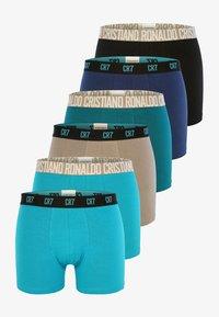 Cristiano Ronaldo CR7 - 6 PACK TRUNKS - Pants - turquoise - 0