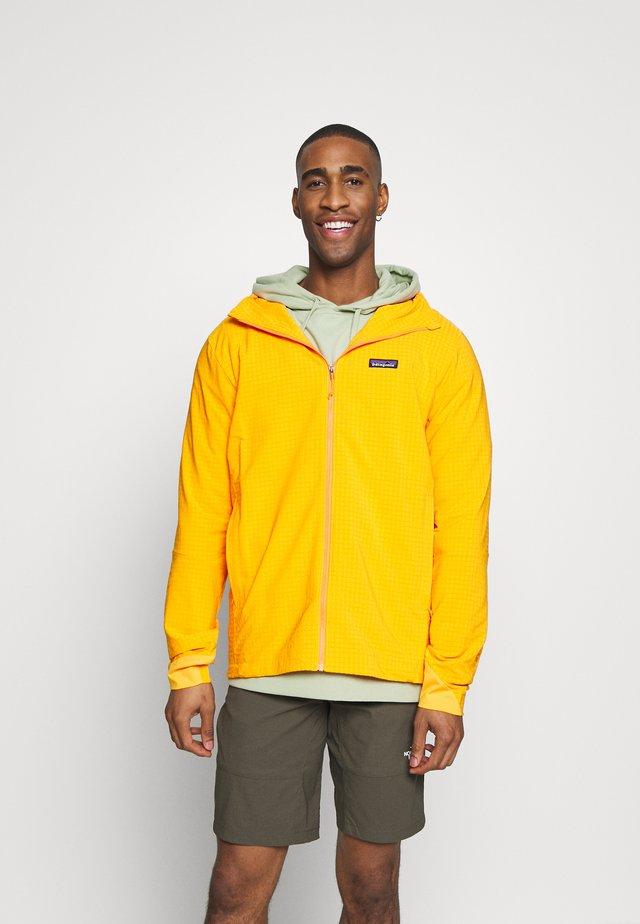 TECHFACE HOODY - Fleece jacket - mango