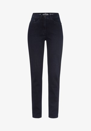 STYLE LAURA STONE - Slim fit jeans - dark blue effekt