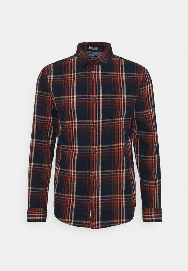 JPRBLUMIKE CHECK - Overhemd - dress blues