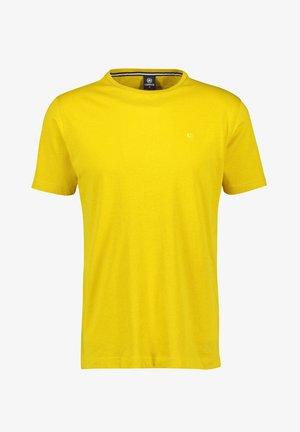 KLASSISCHES T-SHIRT - Basic T-shirt - faded yellow