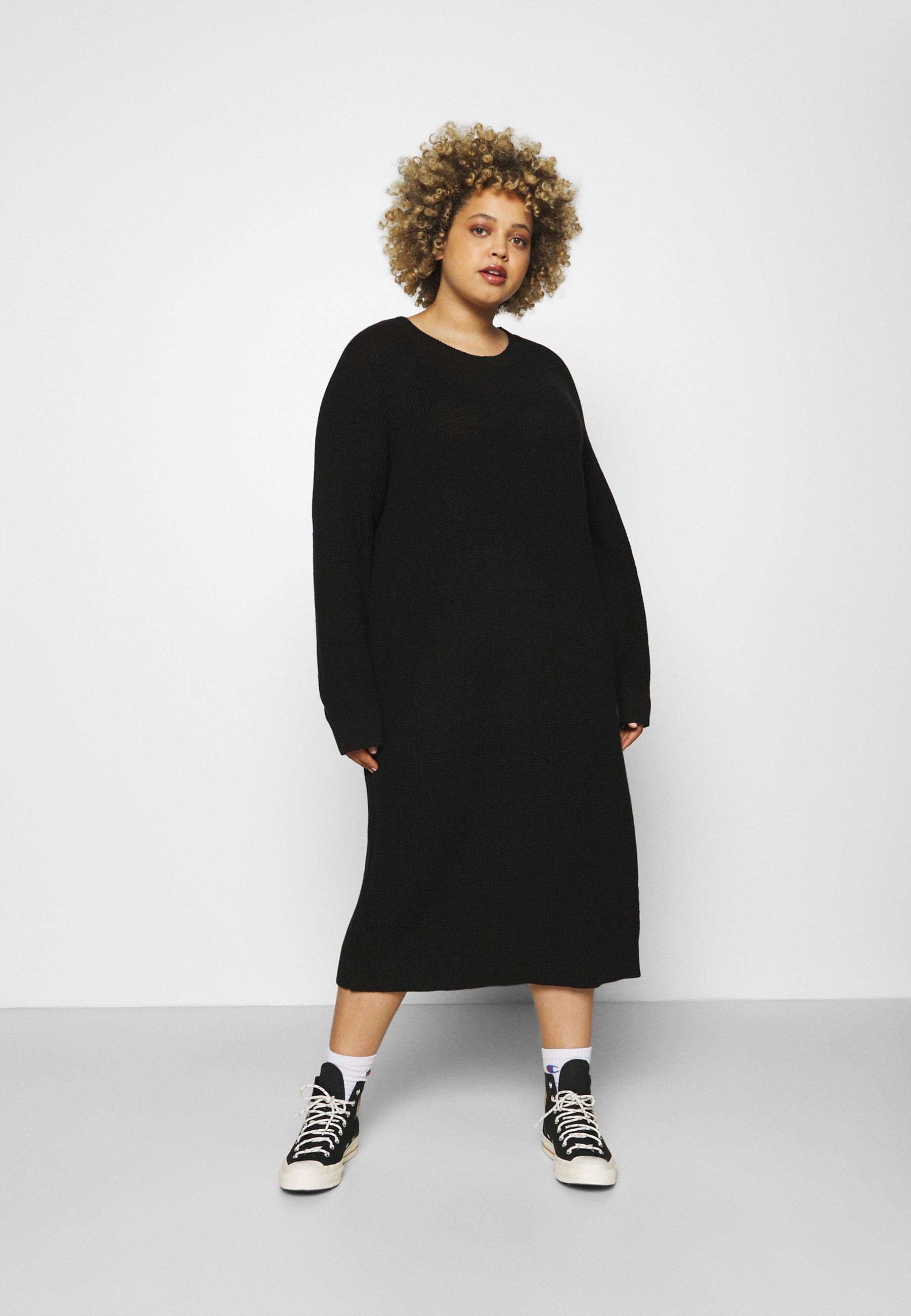 Mujer NMLUCIA DRESS - Vestido de punto