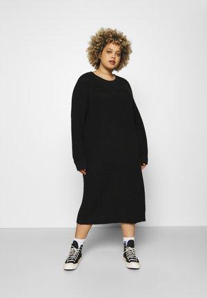 NMLUCIA DRESS - Jumper dress - black