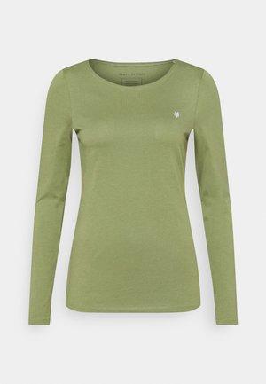 ROUND NECK - T-shirt à manches longues - dried sage