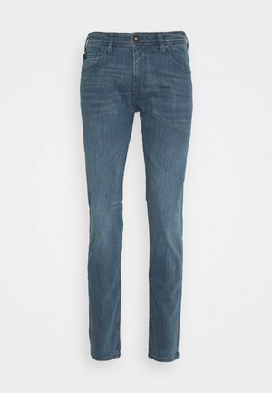 SLIM PIERS - Džíny Slim Fit - blue grey denim