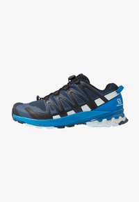 Salomon - XA PRO 3D V8 - Hiking shoes - sargasso sea/imperial blue - 0