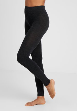 Leggings - Trousers - anthrazit melange