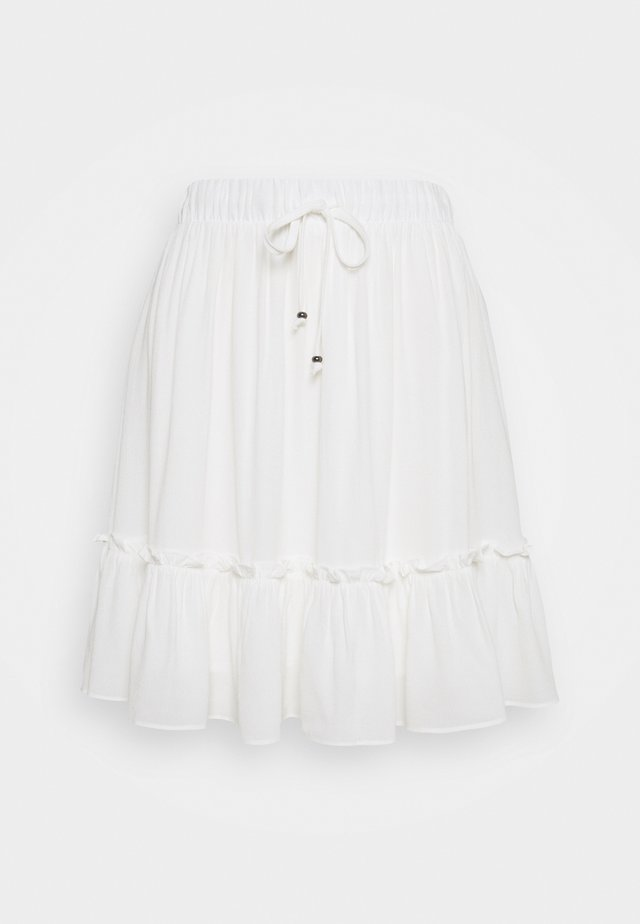 LILLI OANA SKIRT - A-Linien-Rock - snow white