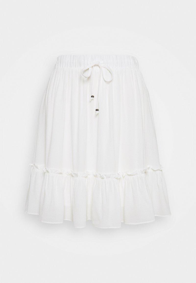 Bruuns Bazaar - LILLI OANA SKIRT - A-line skirt - snow white