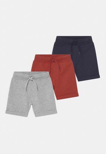 3 PACK UNISEX - Shorts - multi-coloured