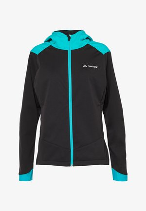 WOMENS QIMSA JACKET - Softshellová bunda - black