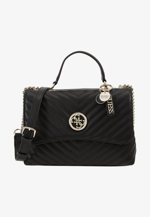 BLAKELY TOP HANDLE FLAP - Handbag - black