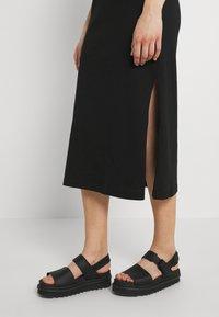 Weekday - ALANIS DRESS - Maxi dress - black - 3