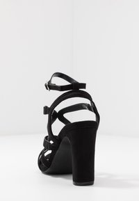 Simply Be - WIDE FIT GENEVA - High heeled sandals - black - 5