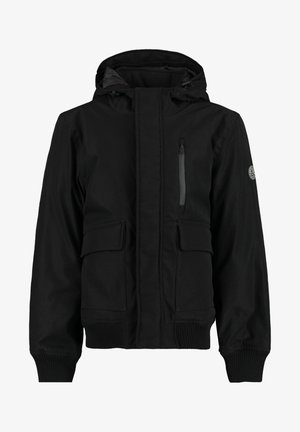 Winterjas - washed black