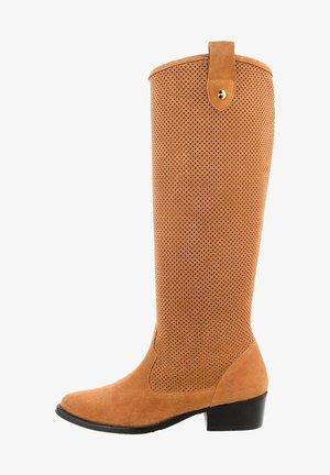 ZANICANO - Vysoká obuv - brown