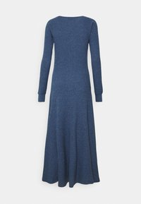 Polo Ralph Lauren - WAFFLE - Jumper dress - river blue heather - 6