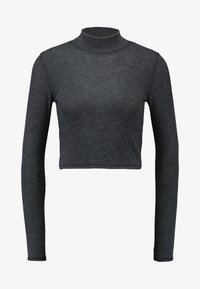 BDG Urban Outfitters - COSY FUNNEL NECK - Langærmede T-shirts - grey - 4