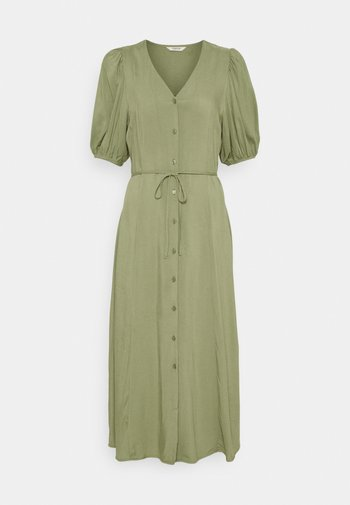JOELLA MIDI DRESS  - Vestido informal - oil green