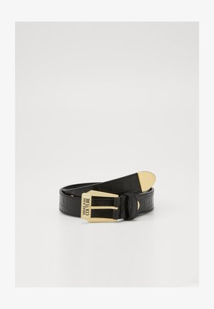 BELT PIN BUCKLE - Pasek - nero