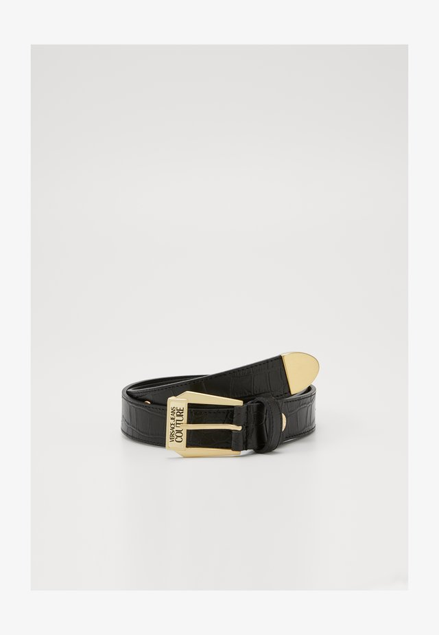 BELT PIN BUCKLE - Riem - nero