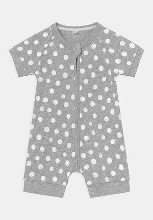 ROMPER UNISEX - Pyjama - white/grey