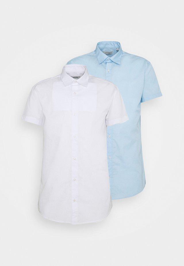 JJJOE PLAIN 2 PACK - Overhemd - cashmere blue