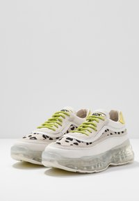 Bronx - BUBBLY - Sneakers laag - offwhite/lime - 4
