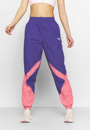 STUDIO CLASH ACTIVE TRACK PANTS - Joggebukse - navy blue