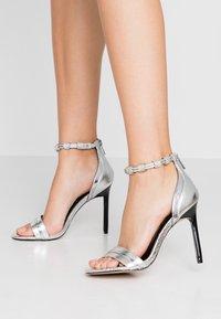 River Island - High heeled sandals - silver - 0