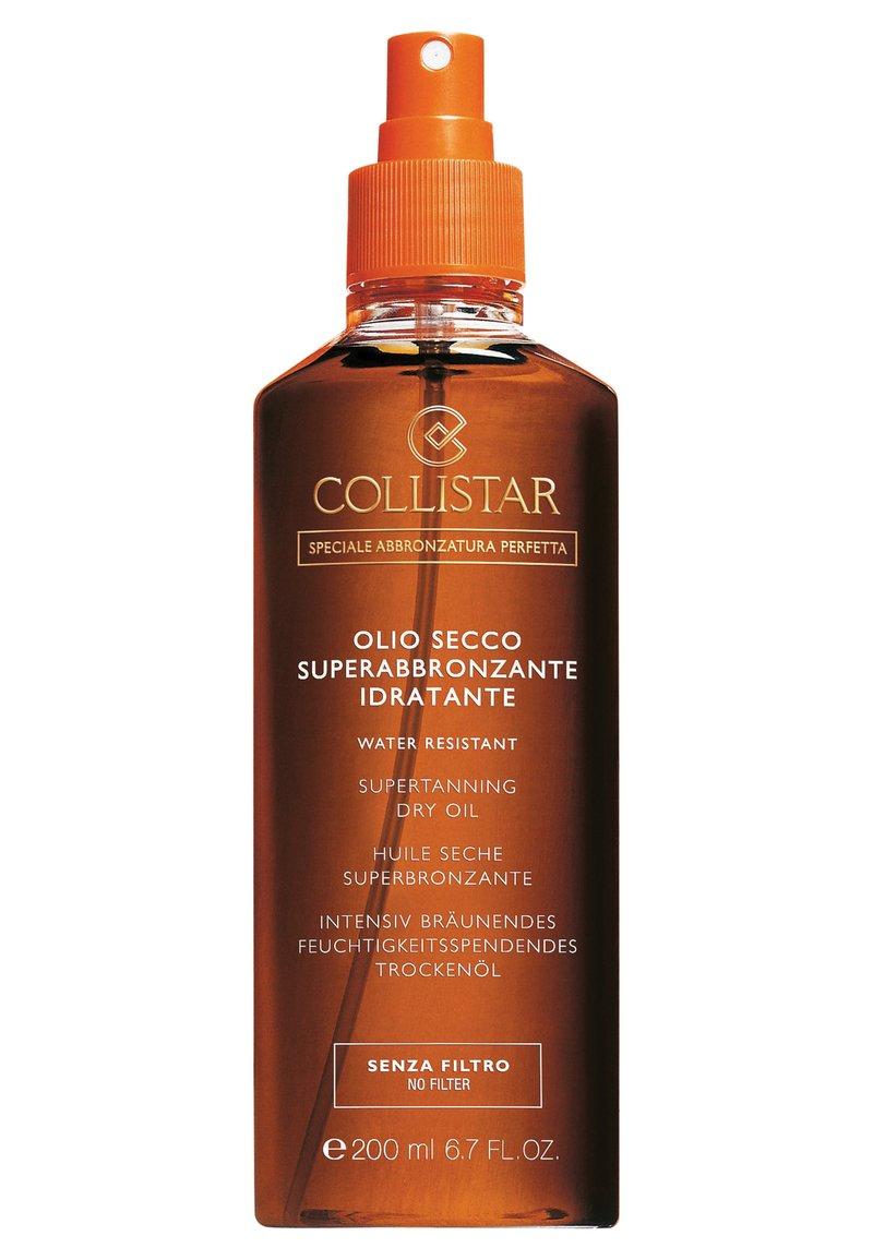 Collistar - SUPERTANNING DRY OIL - Sun protection - -