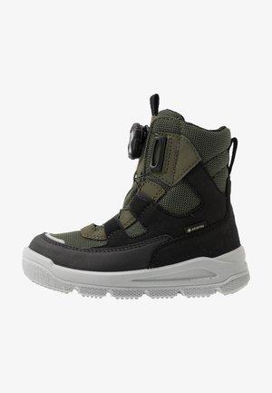 MARS - Snowboots  - schwarz/grün