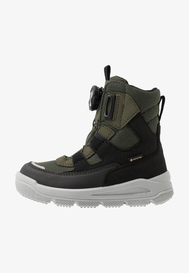 MARS - Zimní obuv - schwarz/grün