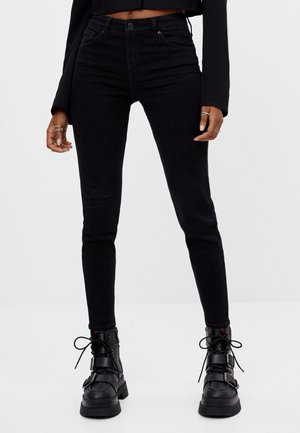 PUSH-UP - Jeans Skinny Fit - black
